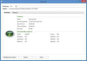 Enlarge NANO AntiVirus Screenshot