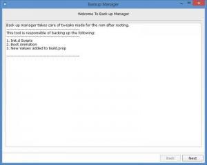 Enlarge Droid Manager Screenshot