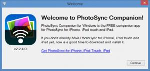 photosync windows 7
