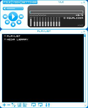 Enlarge VLC Skins Screenshot