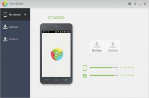 Enlarge SyncDroid Screenshot
