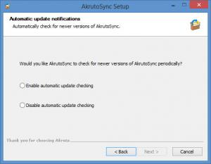 Enlarge AkrutoSync Screenshot