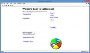 Enlarge EzBackTest Screenshot