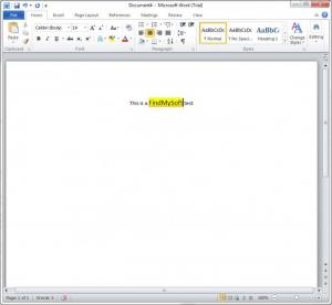 Enlarge Microsoft Office Professional Plus 2010 Screenshot