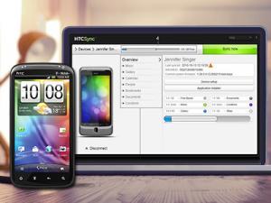 Enlarge HTC Sync Screenshot