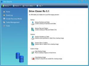 Enlarge Drive Cloner Rx Screenshot