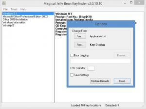 Enlarge Keyfinder Screenshot