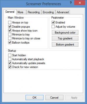 Enlarge Screamer Radio Screenshot