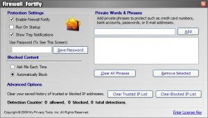 Enlarge Firewall Fortify Screenshot