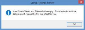 Enlarge Firewall Fortify Screenshot