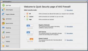 Enlarge AVS Firewall Screenshot