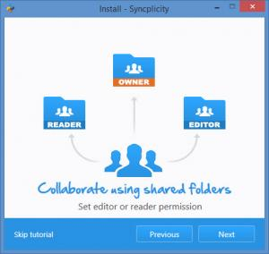 Enlarge Syncplicity Screenshot