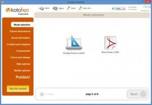 Enlarge Kotobee Publisher Screenshot