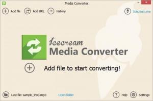 Enlarge IceCream Media Converter Screenshot