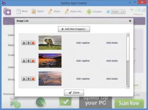 Enlarge Gallery App Creator Screenshot