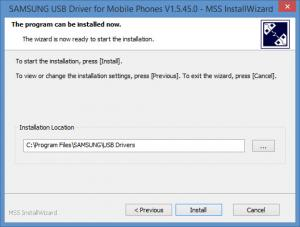 Enlarge Samsung USB Driver for Mobile Phones Screenshot