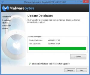 Enlarge Malwarebytes Anti-Rootkit Screenshot