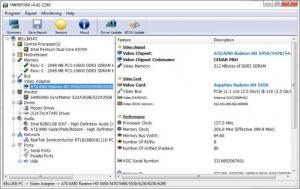 Enlarge HWiNFO64 Screenshot