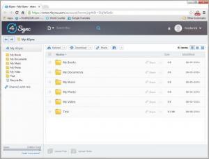 Enlarge 4Sync Screenshot