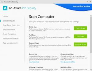 Enlarge Ad-Aware Pro Security Screenshot