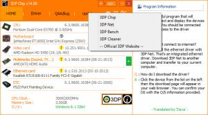 Enlarge 3DP Chip Screenshot