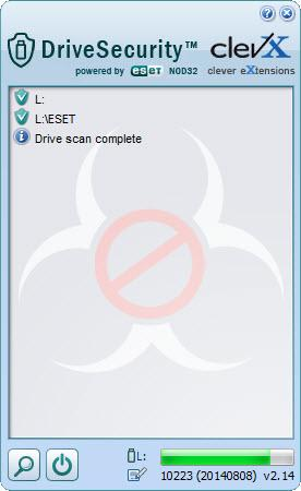 Enlarge DriveSecurity Screenshot