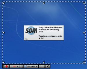 Enlarge Screencast-O-Matic Screenshot