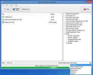 Enlarge TAudioConverter Screenshot