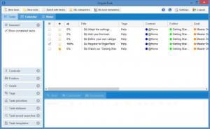 Enlarge OrganiTask Screenshot