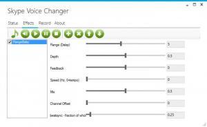 Enlarge Skype Voice Changer Screenshot