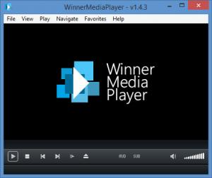 Enlarge Winner Media Player Screenshot