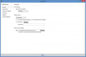 Enlarge HandBrake Screenshot