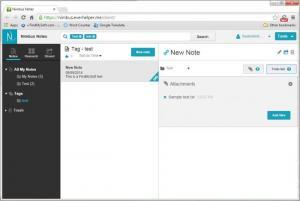 Enlarge Nimbus Note Screenshot