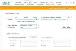 Enlarge Emsisoft Internet Security Screenshot