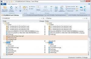 Enlarge Araxis Merge Screenshot