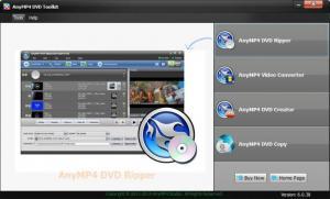 Enlarge AnyMP4 DVD Toolkit Screenshot
