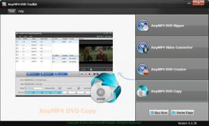 Enlarge AnyMP4 DVD Toolkit Screenshot