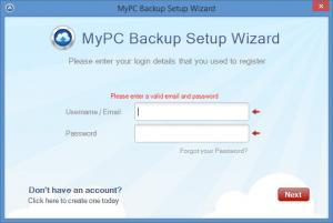 Enlarge MyPC Backup Screenshot