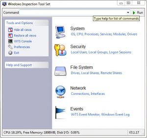 Enlarge Windows Inspection Tool Set Screenshot