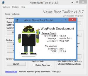 Enlarge Nexus Root Toolkit Screenshot