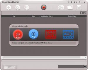 Enlarge Open SmartBurner Screenshot