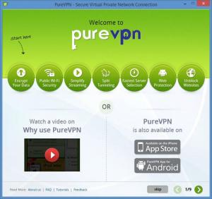 Enlarge PureVPN Screenshot