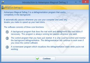 Enlarge Magical Defrag Screenshot