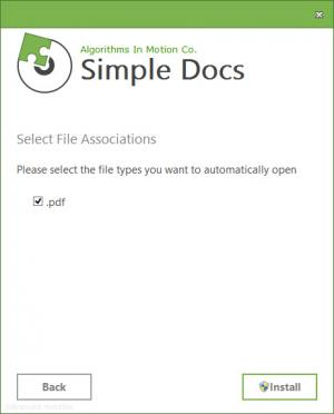 Enlarge Simple Docs Screenshot