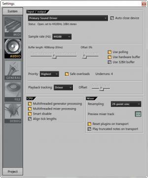 Enlarge FL Studio Screenshot