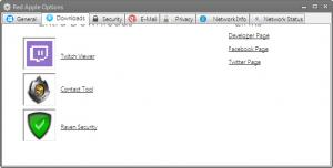 Enlarge Red Apple Browser Screenshot