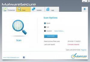 Enlarge MalwareSecure Screenshot