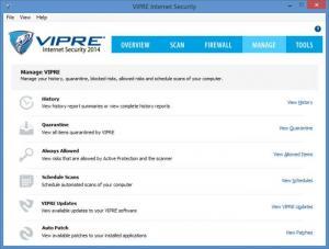 Enlarge VIPRE Internet Security Screenshot
