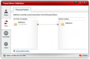 Enlarge Trend Micro SafeSync Screenshot