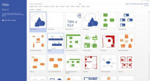 Enlarge Microsoft Visio Screenshot